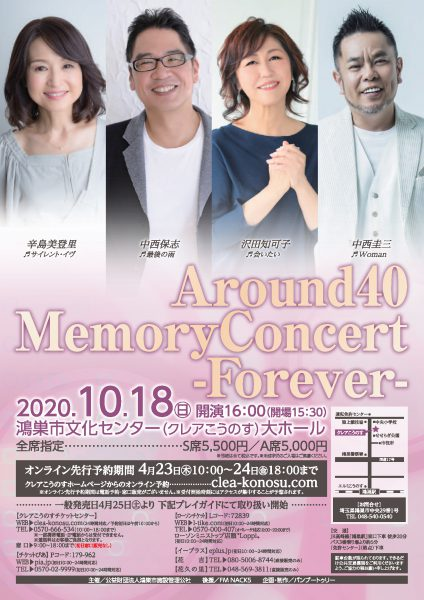 Around40 Memory Concert -Forever-